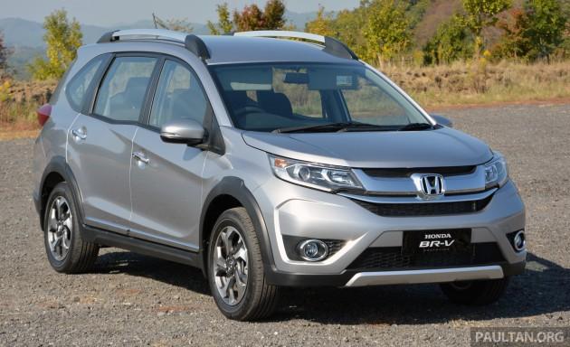 Honda BR-V drive Japan 2015-48