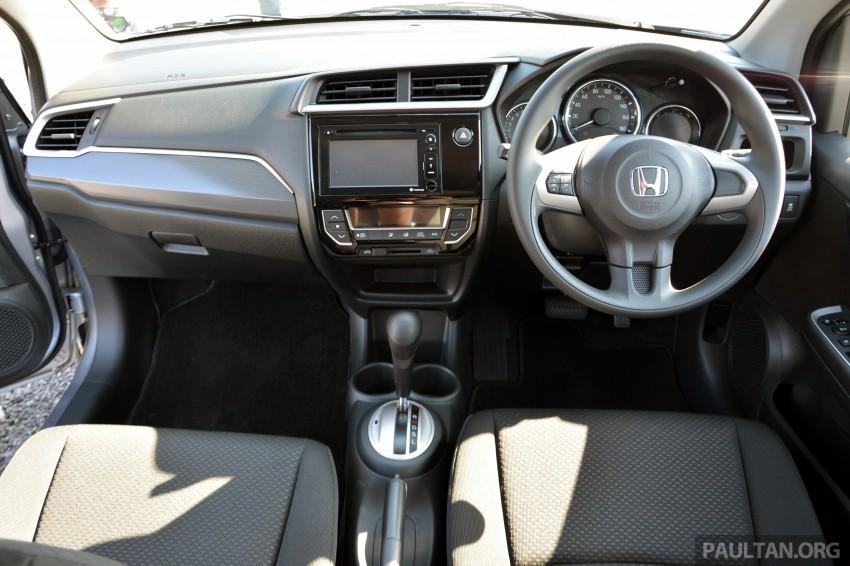 Honda BR-V – first drive impressions, interior details Image #397953