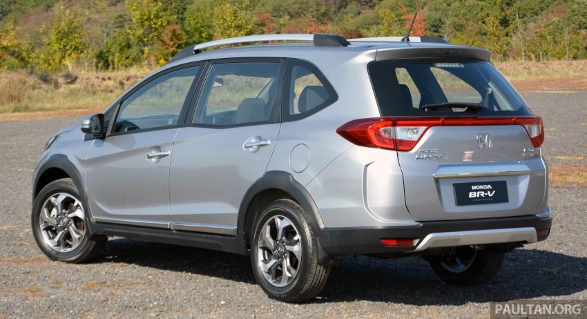 Honda BR-V – first drive impressions, interior details Image #397952