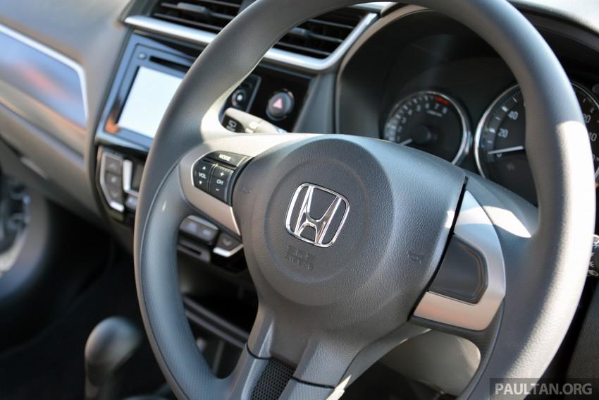 Honda BR-V – first drive impressions, interior details Image #397955