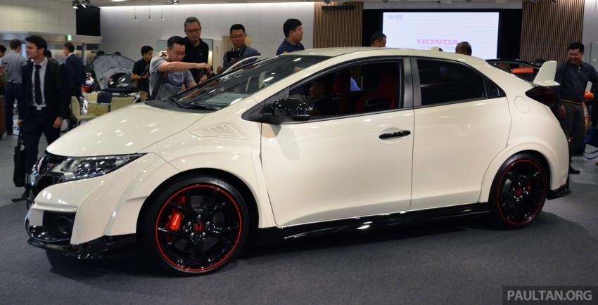 GALLERY: Honda Civic Type R at Honda HQ, Minato Image #400334