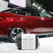 Honda Clarity fuel cell TMS-1