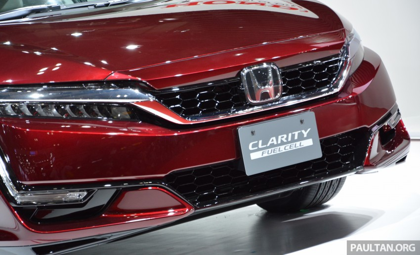 Tokyo 2015: Honda Clarity Fuel Cell makes its debut Image #398410