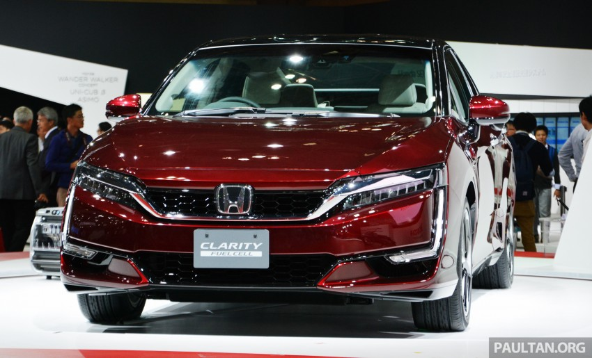 Tokyo 2015: Honda Clarity Fuel Cell makes its debut Image #398412