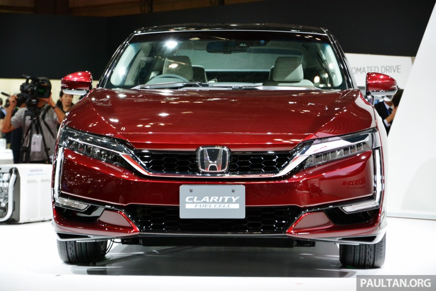 Tokyo 2015: Honda Clarity Fuel Cell makes its debut Image #398413