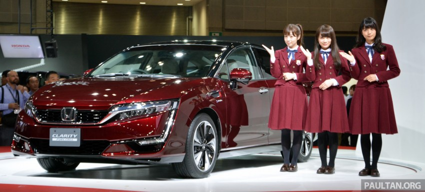 Tokyo 2015: Honda Clarity Fuel Cell makes its debut Image #398749