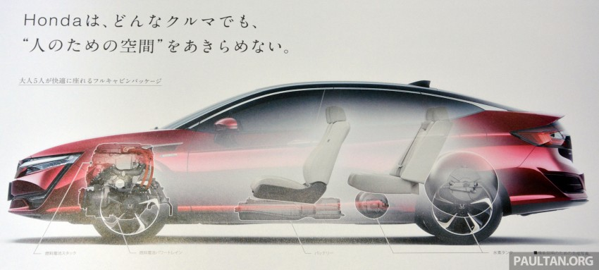 Tokyo 2015: Honda Clarity Fuel Cell makes its debut Image #398753