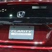 Honda Clarity fuel cell TMS-3