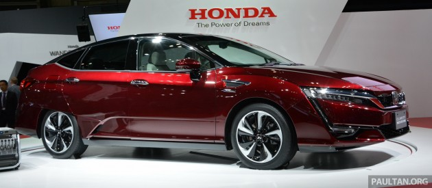 Honda Clarity fuel cell TMS-5