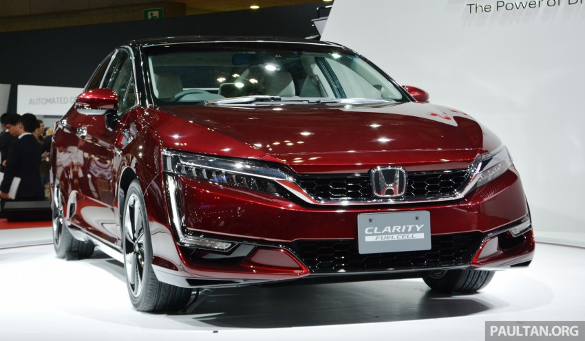 Tokyo 2015: Honda Clarity Fuel Cell makes its debut Image #398406