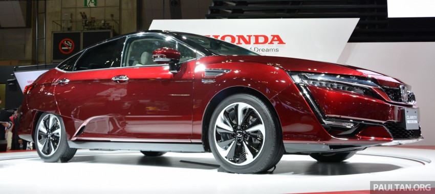 Tokyo 2015: Honda Clarity Fuel Cell makes its debut Image #398407