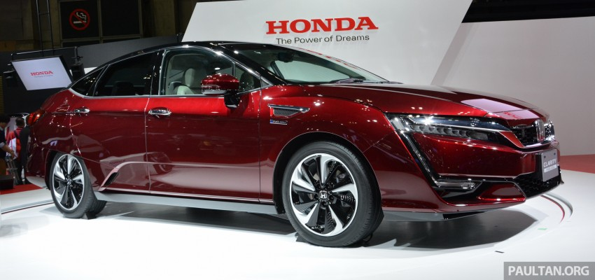 Tokyo 2015: Honda Clarity Fuel Cell makes its debut Image #398408
