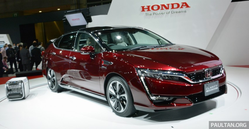 Tokyo 2015: Honda Clarity Fuel Cell makes its debut Image #398409