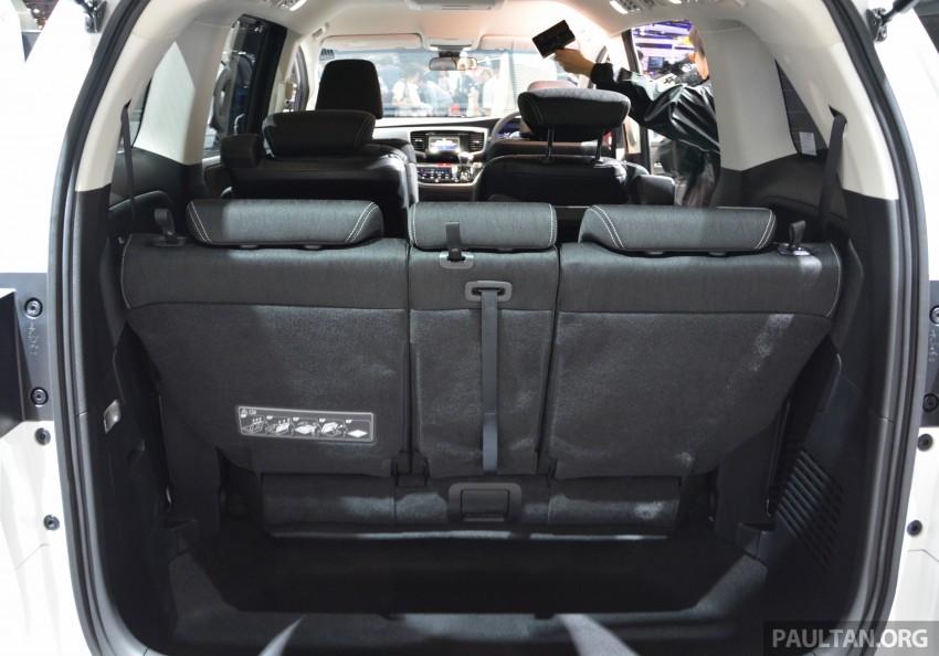 Tokyo 2015: Honda Odyssey Hybrid makes its debut Image #399453