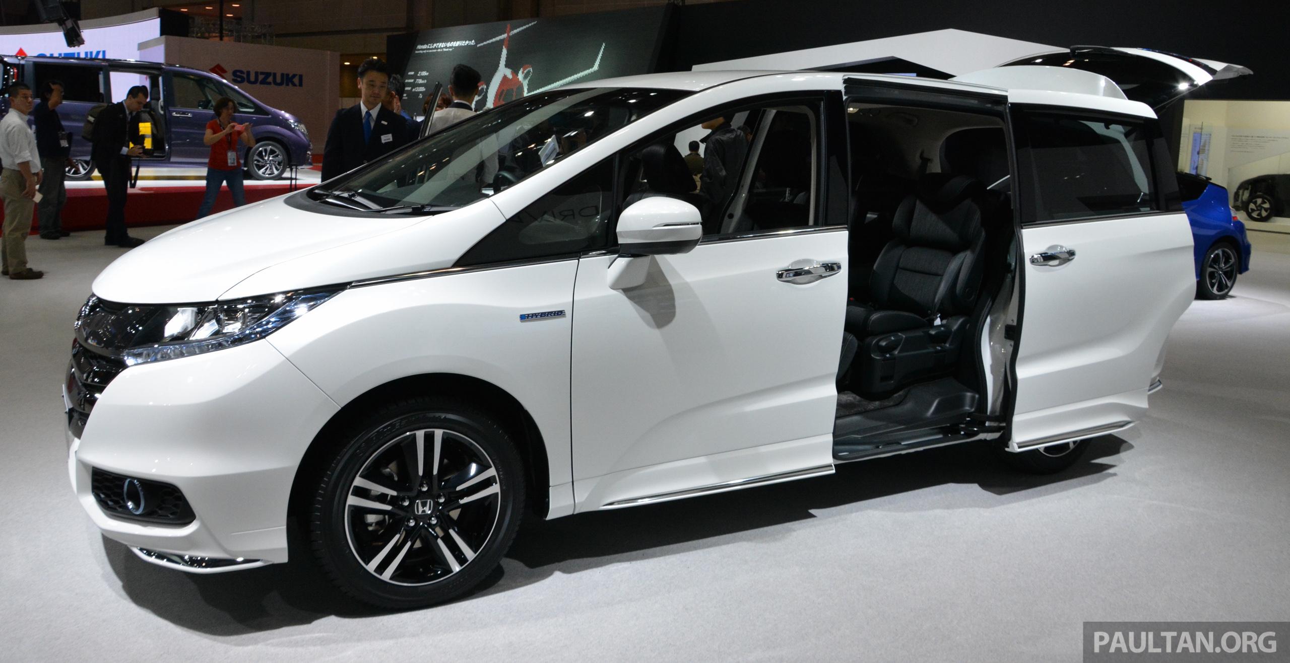 Tokyo 2017 Honda Odyssey Hybrid Makes Its Debut Image 399454