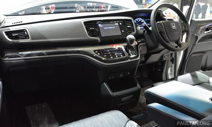 Tokyo 2015: Honda Odyssey Hybrid makes its debut Image #399457