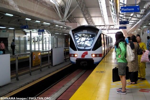 LRT rail pix Bernama