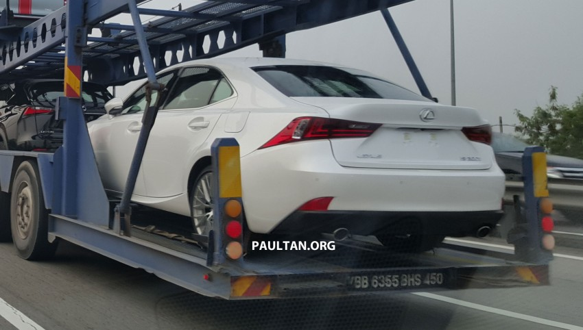 SPYSHOTS: Lexus IS 200t ahead of Malaysian launch Image #386137