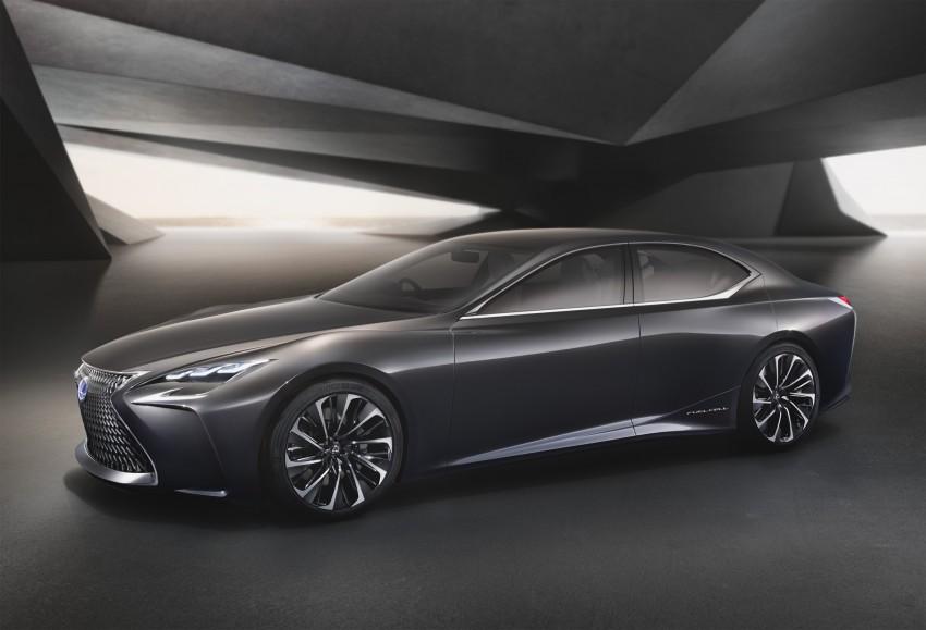 Tokyo 2015: Lexus LF-FC concept previews next LS Image #398860