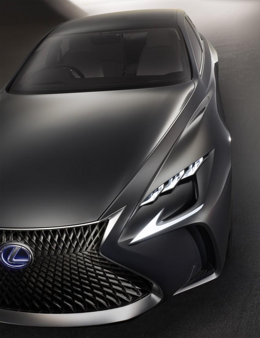 Tokyo 2015: Lexus LF-FC concept previews next LS Image #398871