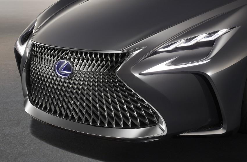 Tokyo 2015: Lexus LF-FC concept previews next LS Image #398872