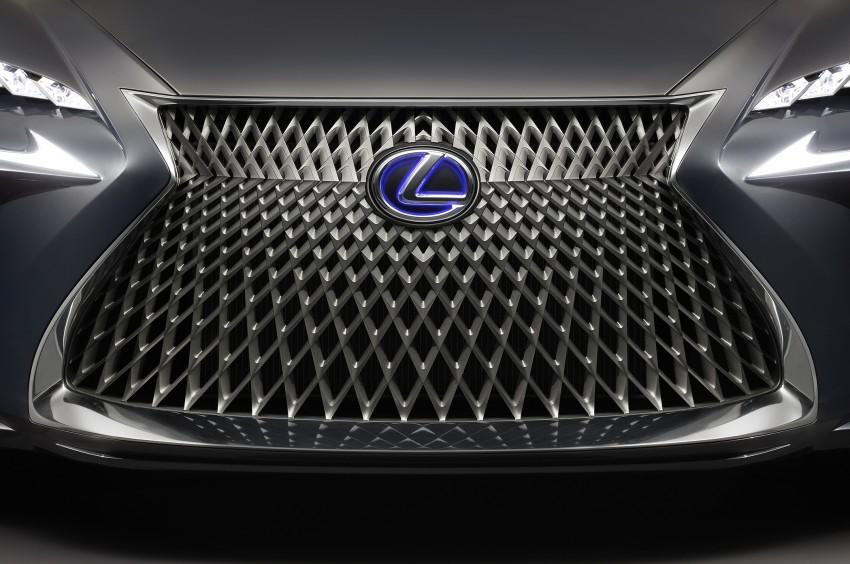 Tokyo 2015: Lexus LF-FC concept previews next LS Image #398873