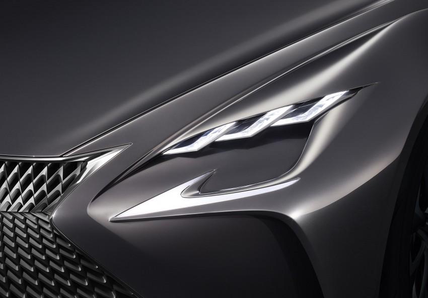 Tokyo 2015: Lexus LF-FC concept previews next LS Image #398875