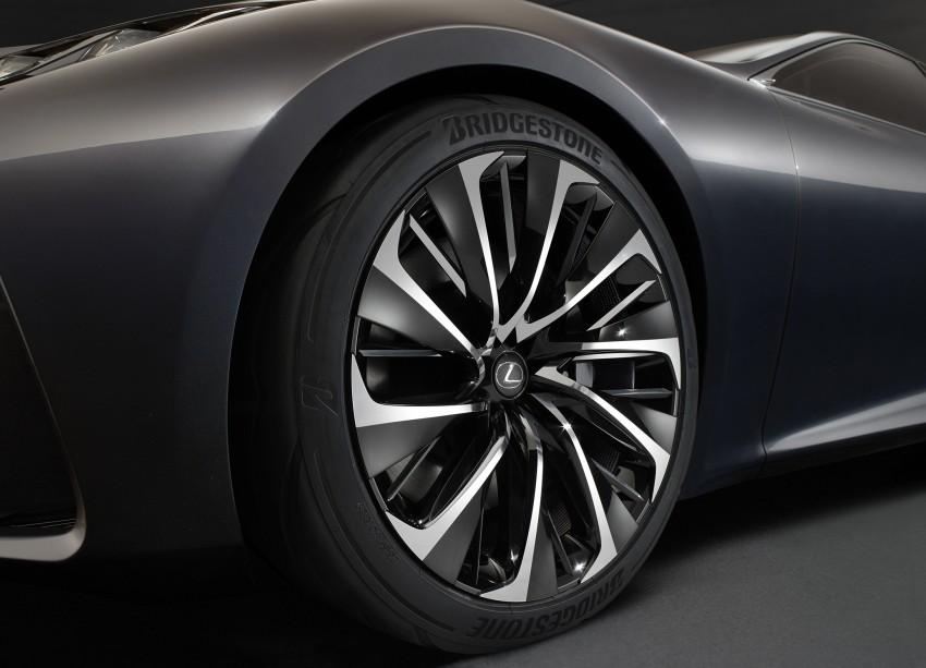 Tokyo 2015: Lexus LF-FC concept previews next LS Image #398877
