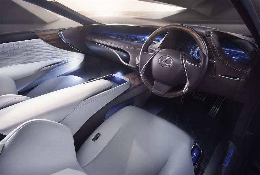 Tokyo 2015: Lexus LF-FC concept previews next LS Image #398861
