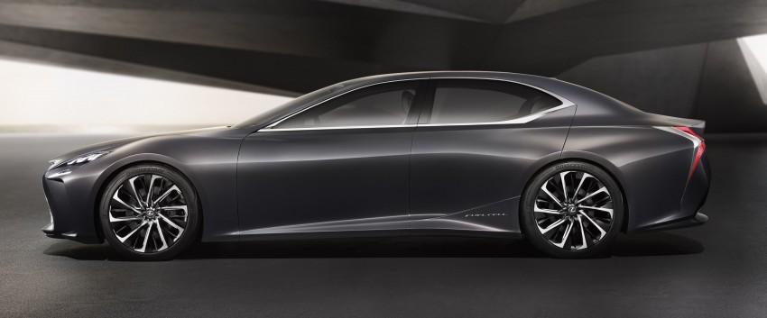 Tokyo 2015: Lexus LF-FC concept previews next LS Image #398864