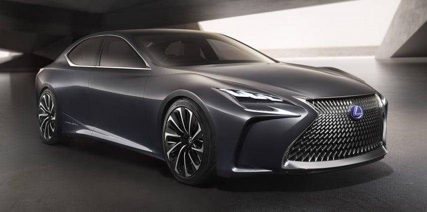Tokyo 2015: Lexus LF-FC concept previews next LS Image #398866