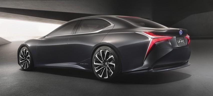 Tokyo 2015: Lexus LF-FC concept previews next LS Image #398867