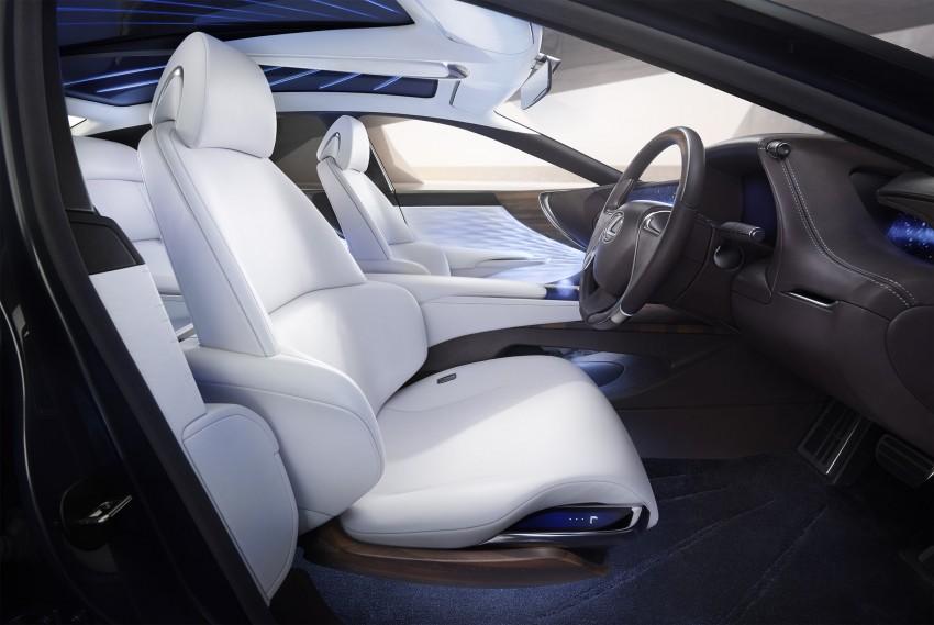 Tokyo 2015: Lexus LF-FC concept previews next LS Image #398868