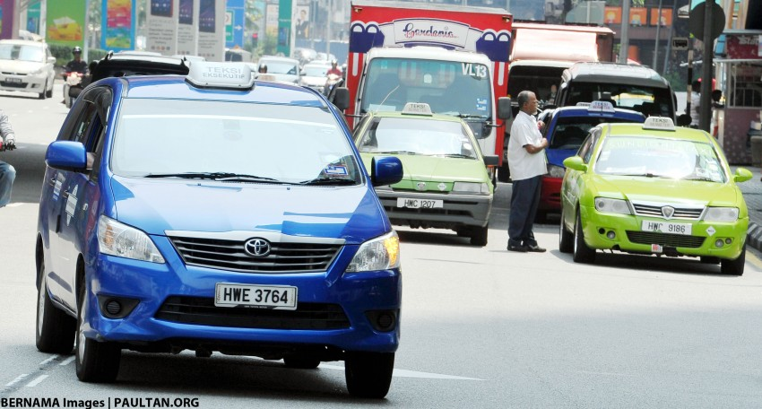 "Taxi drivers urged to ""improve their services"" instead of organising protests against Uber, GrabCar – SPAD Image #390781"