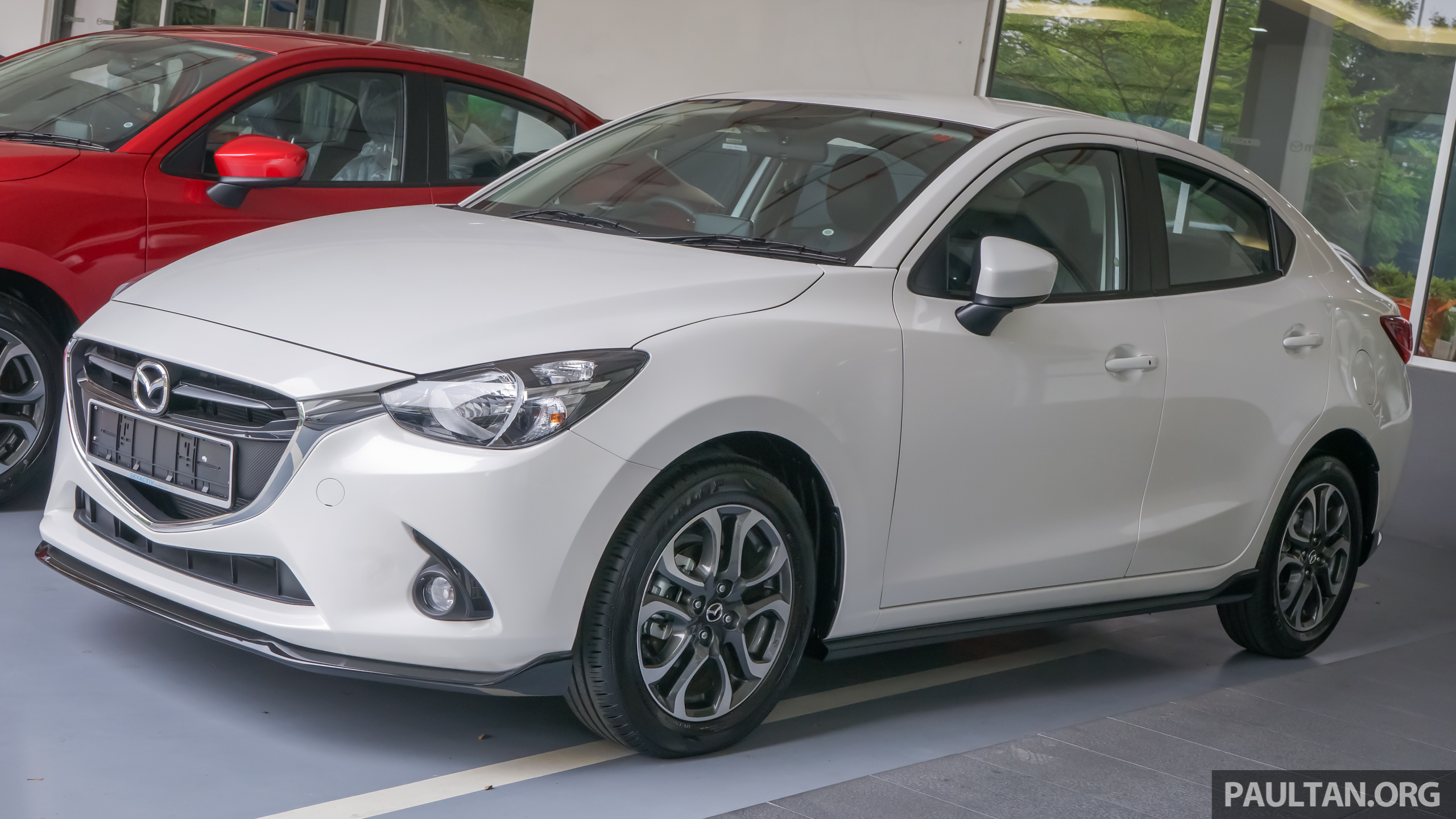 gallery 2015 mazda2 1 5 sedan with sports kit. Black Bedroom Furniture Sets. Home Design Ideas