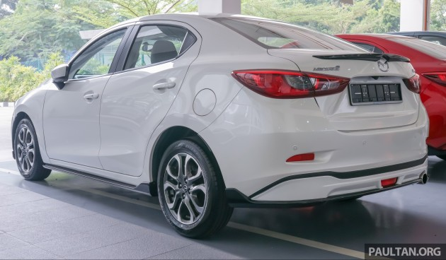 Mazda 2 Sedan Bodykit 2