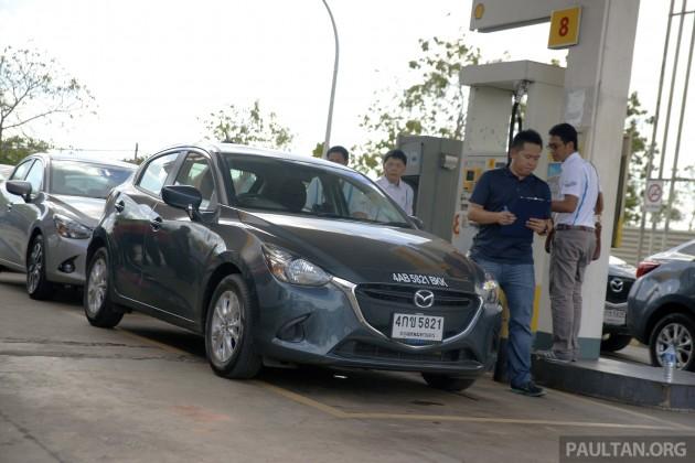Mazda 2 SkyActiv-D Clean Diesel Challenge 10