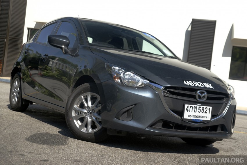 DRIVEN: Mazda 2 1.5L SkyActiv-D diesel put to the test – 1,041 km from Bangkok to border on a single tank Image #386563