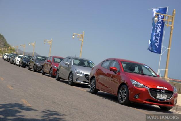 Mazda 2 SkyActiv-D Clean Diesel Challenge 8