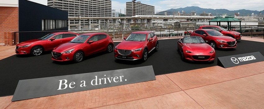 "Mazda CEO – sedan models to be focussed on first before SUVs in order to create ""great driving cars"" Image #399790"