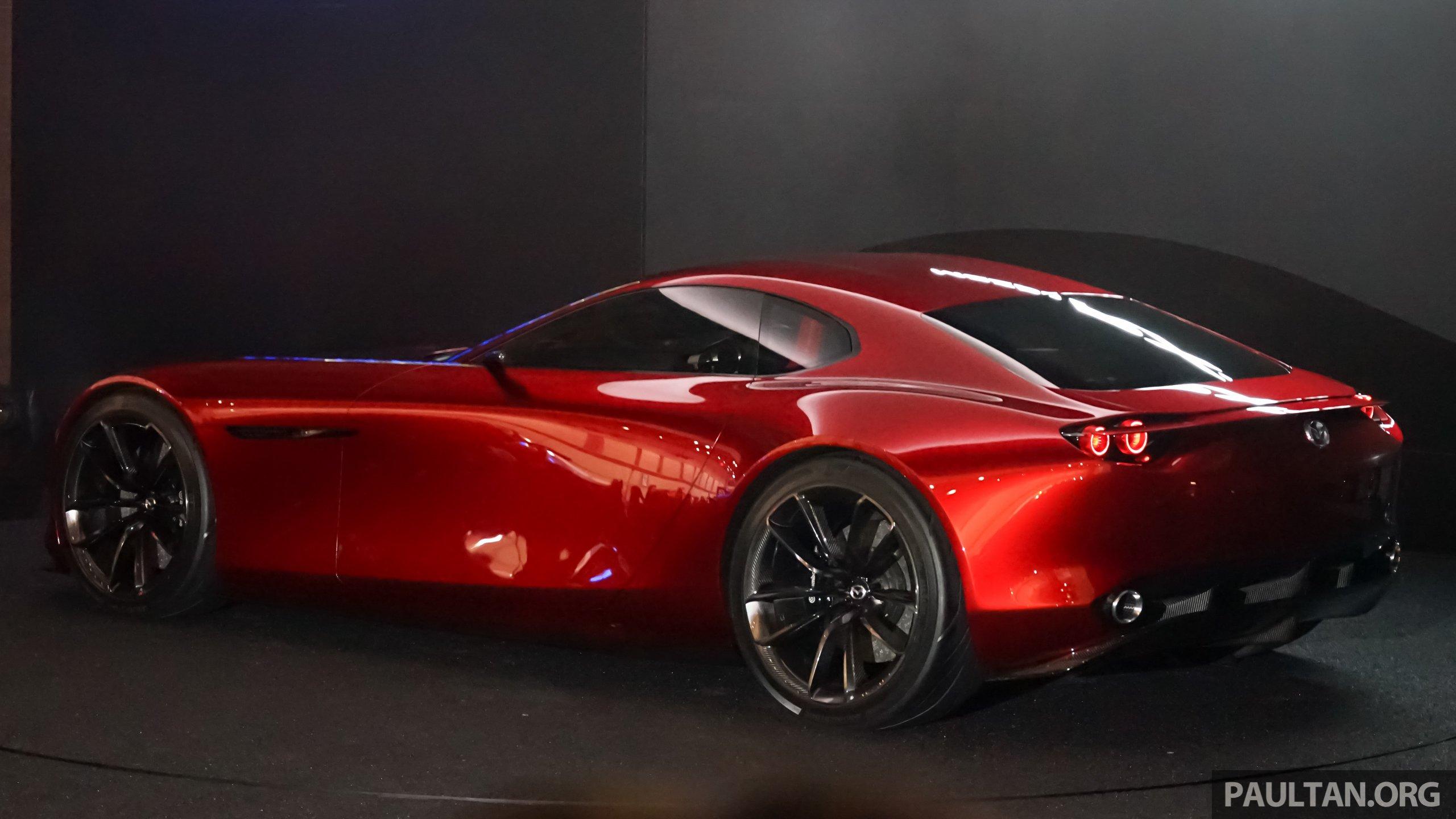 Tokyo 2015 Mazda Rx Vision New Rotary Concept Image 398114