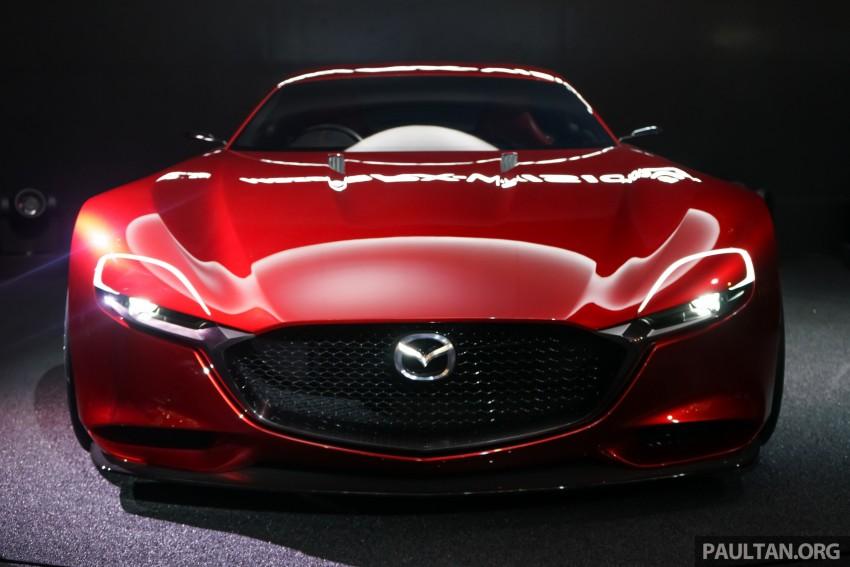Tokyo 2015: Mazda RX-Vision – new rotary concept! Image #399059