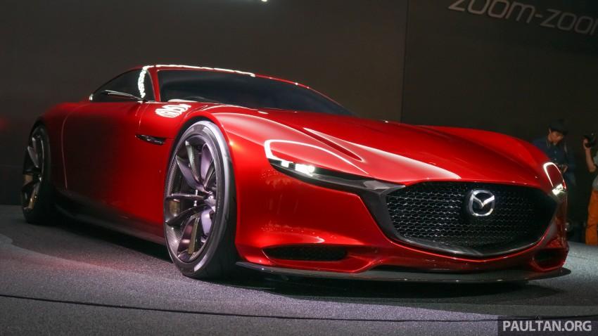 Tokyo 2015: Mazda RX-Vision – new rotary concept! Image #399061
