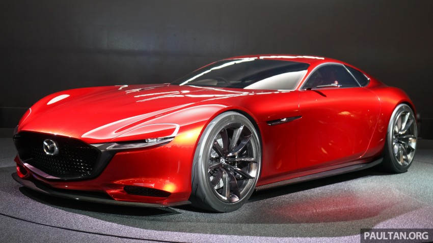 Tokyo 2015: Mazda RX-Vision – new rotary concept! Image #398988
