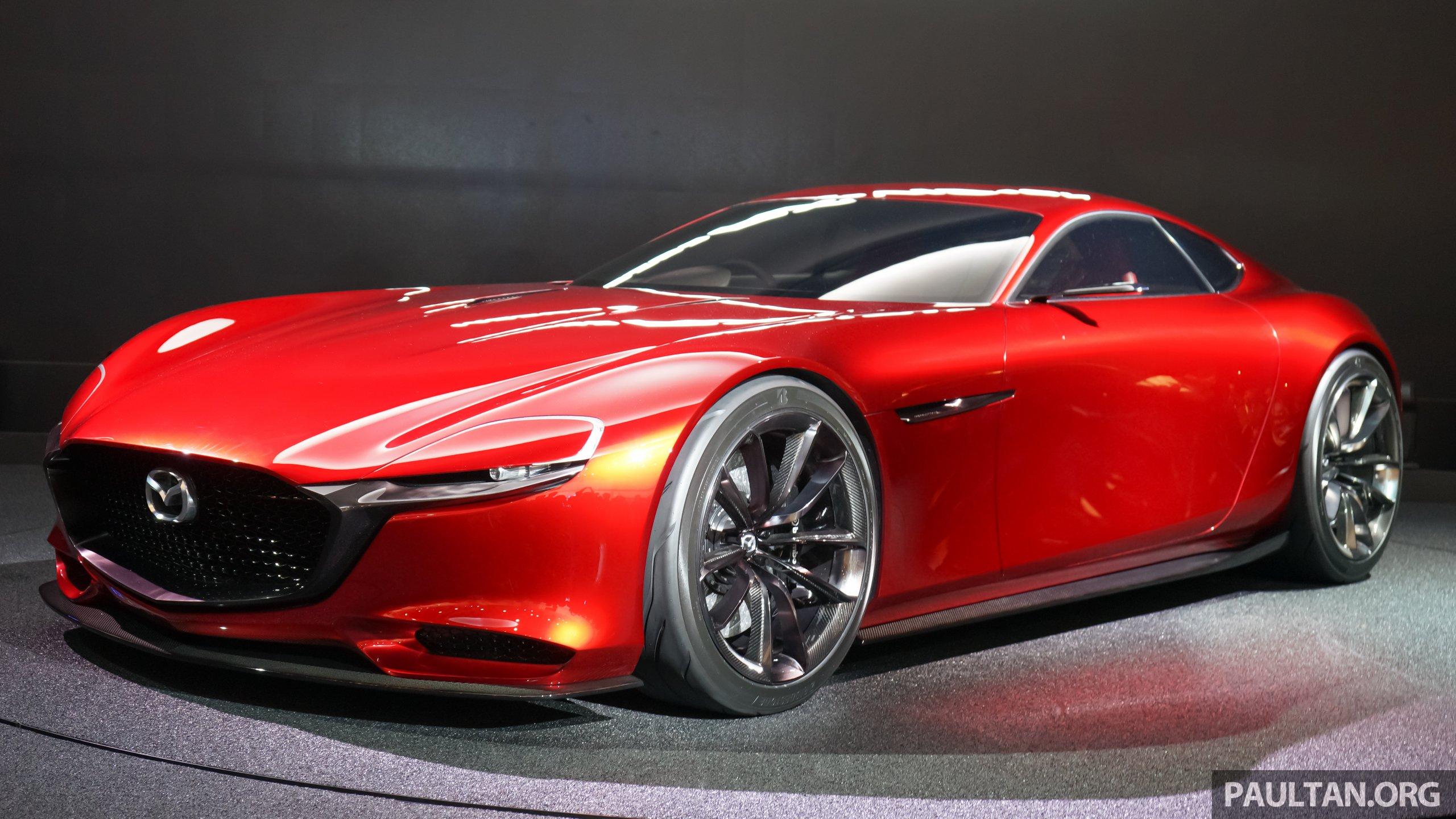 Tokyo 2015 Mazda Rx Vision New Rotary Concept Paul Tan Image