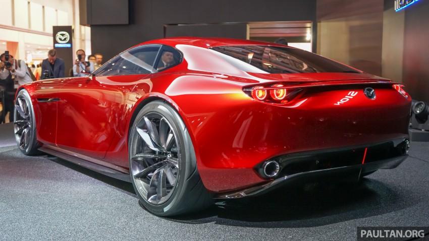 Tokyo 2015: Mazda RX-Vision – new rotary concept! Image #398989