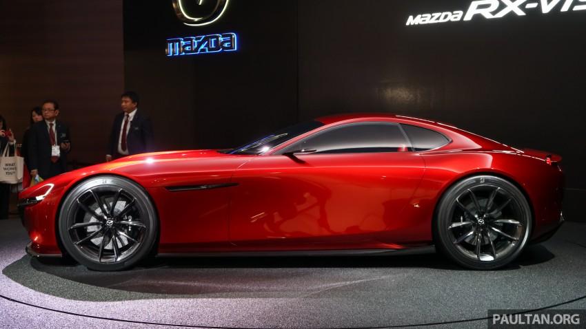 Tokyo 2015: Mazda RX-Vision – new rotary concept! Image #398992