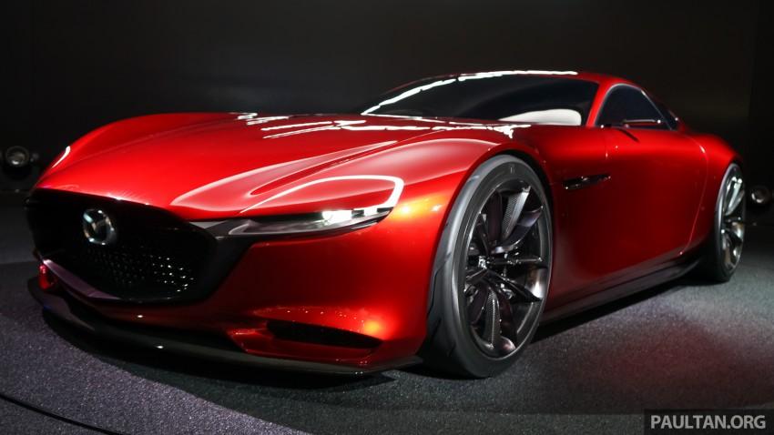 Tokyo 2015: Mazda RX-Vision – new rotary concept! Image #398993