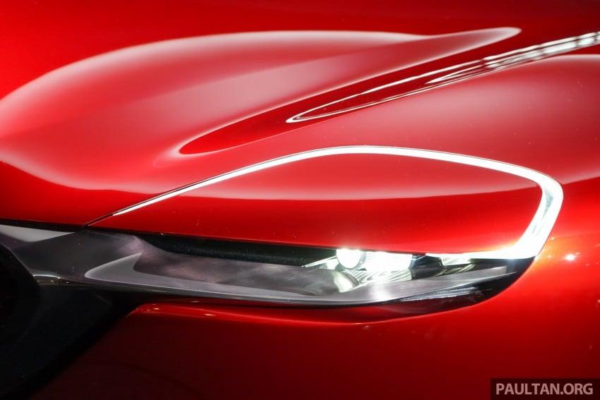 Tokyo 2015: Mazda RX-Vision – new rotary concept! Image #398995