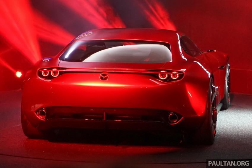 Tokyo 2015: Mazda RX-Vision – new rotary concept! Image #398116